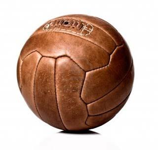Pelota antigua de voleibol