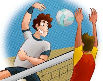 Bloqueo en voleibol