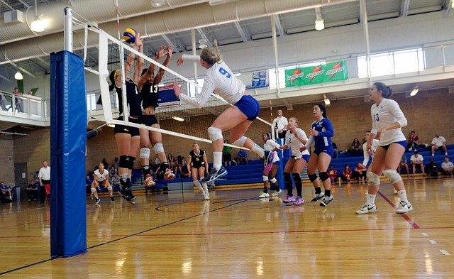 el bloqueo en el voleibol