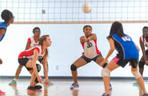 Posiciones fundamentales voleibol
