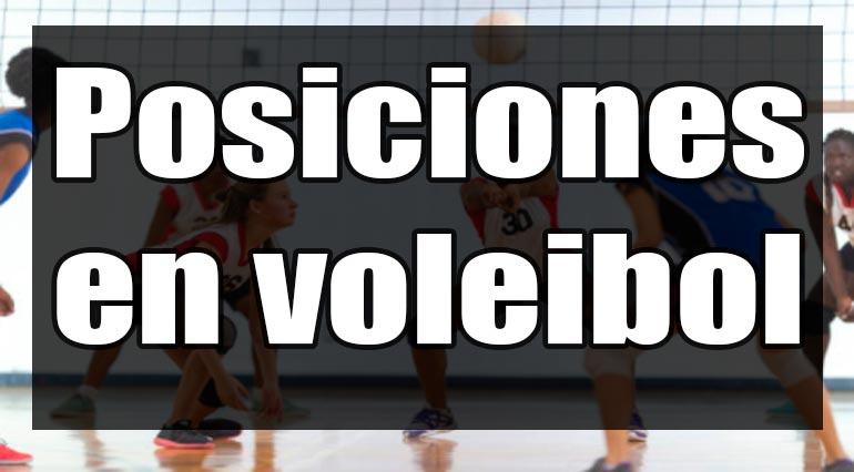 Posiciones de voleibol